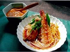 No.18 七色素麺