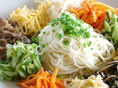 No.25  素麺の韓国風和え物
