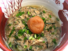 No.27 冷や汁素麺