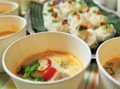 No.29 鶏肉の冷たいココナッツミルクスープ