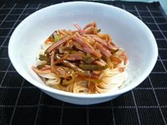 No.33  ザーサイ素麺